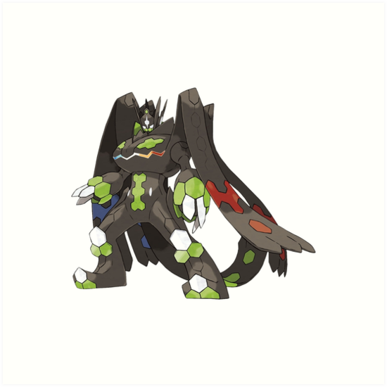 zygarde 100 form art prints by chopping redbubble