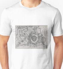 Vintage Map of Vienna Austria (1780) Unisex T-Shirt