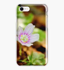 Mountain Woodsorrel iPhone Case/Skin