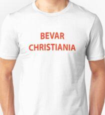 BEVAR CHRISTIANIA Unisex T-Shirt