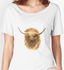 Highland cattle bull Women's Relaxed Fit T-Shirt