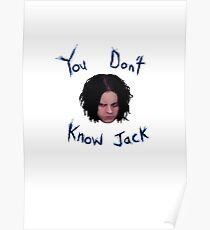 Jack White - You Don't Know Jack Poster
