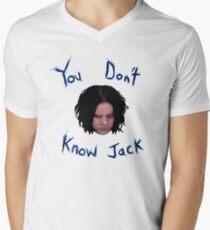 Jack White - You Don't Know Jack Men's V-Neck T-Shirt