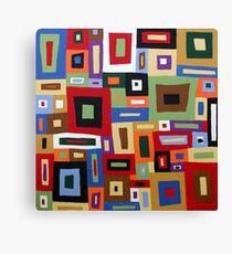 Colored Blocks Canvas Print
