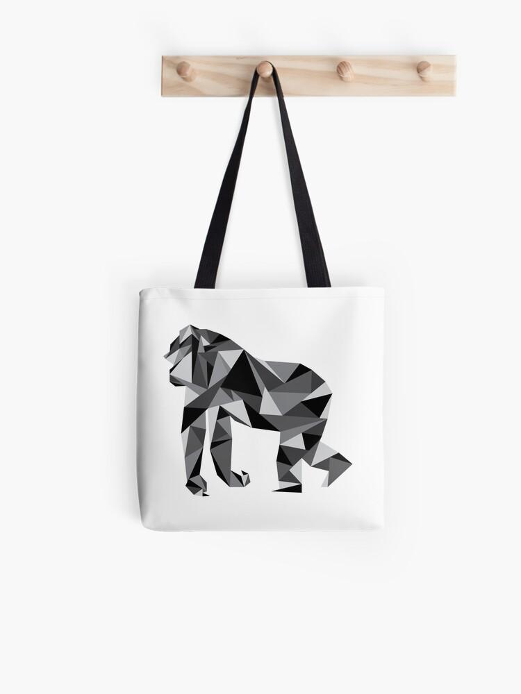7283c2a5422 Geometric Gorilla | Tote Bag