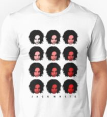 Jack White - Red Pattern Unisex T-Shirt