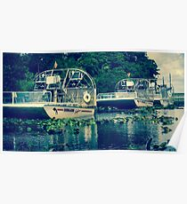 Everglades Air boat  Poster