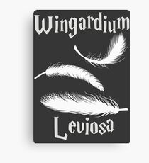 Wingardium Leviosa Canvas Print