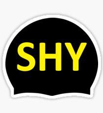 SHY Swim Cap Sticker