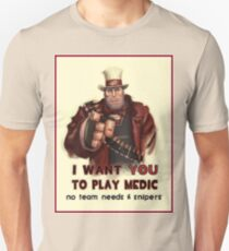 Uncle Heavy wants YOU Unisex T-Shirt