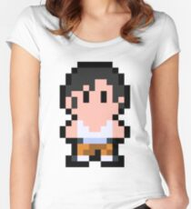 Pixel Chell Women's Fitted Scoop T-Shirt