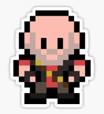 Pixel Heavy Sticker
