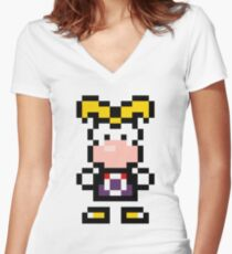 Pixel Rayman Women's Fitted V-Neck T-Shirt