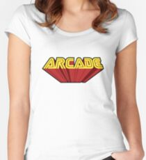 Arcade Women's Fitted Scoop T-Shirt