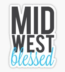 Midwest Blessed Sticker