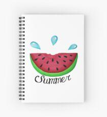 Summer Watermelon Spiral Notebook