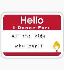 Reason to Dance FTK  Sticker