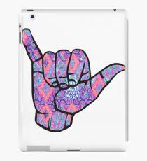 Shaka Hand iPad-Hülle & Klebefolie
