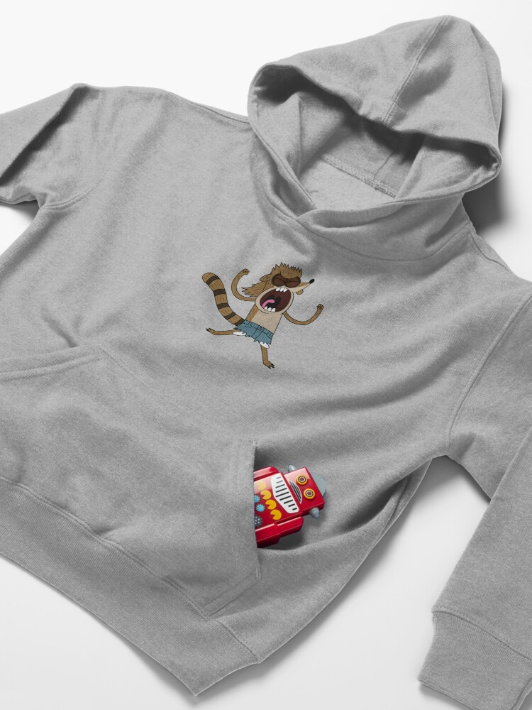 Alternate view of Rigby, The Death Kwon Do Freak Kids Pullover Hoodie