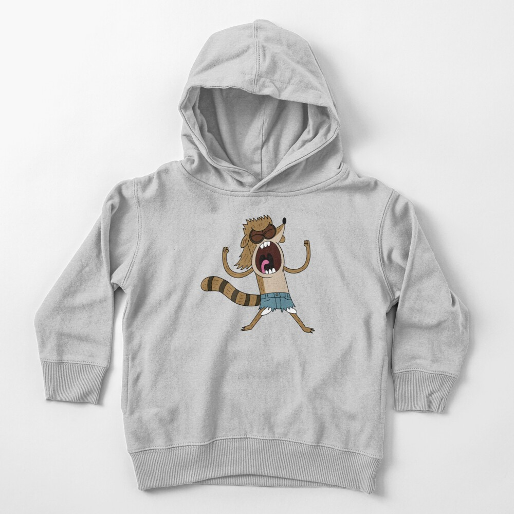 Rigby, The Death Kwon Do Freak Toddler Pullover Hoodie