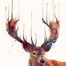 Red Deer von Amy Hamilton
