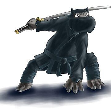Ninjapotamus  by StormCrow42