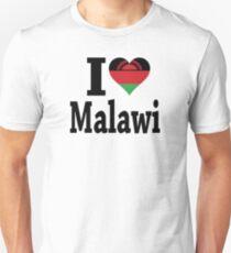 I Love Malawi Flag t-shirt T-Shirt