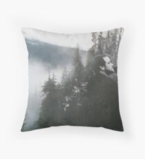 Crowley - Mist Throw Pillow