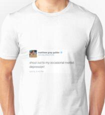 Ocasional Depression T-Shirt