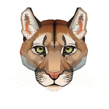 Cougar Face by PaulaLucas