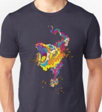 Psychedelic acid bear roar T-Shirt