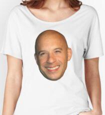 Camiseta ancha para mujer Vin Diesel