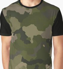 Olive Camo Graphic T-Shirt