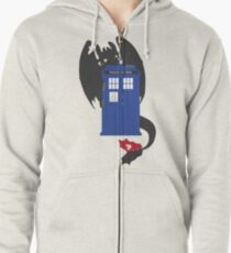 Train Your Doctor Zipped Hoodie