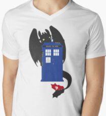 Train Your Doctor Men's V-Neck T-Shirt