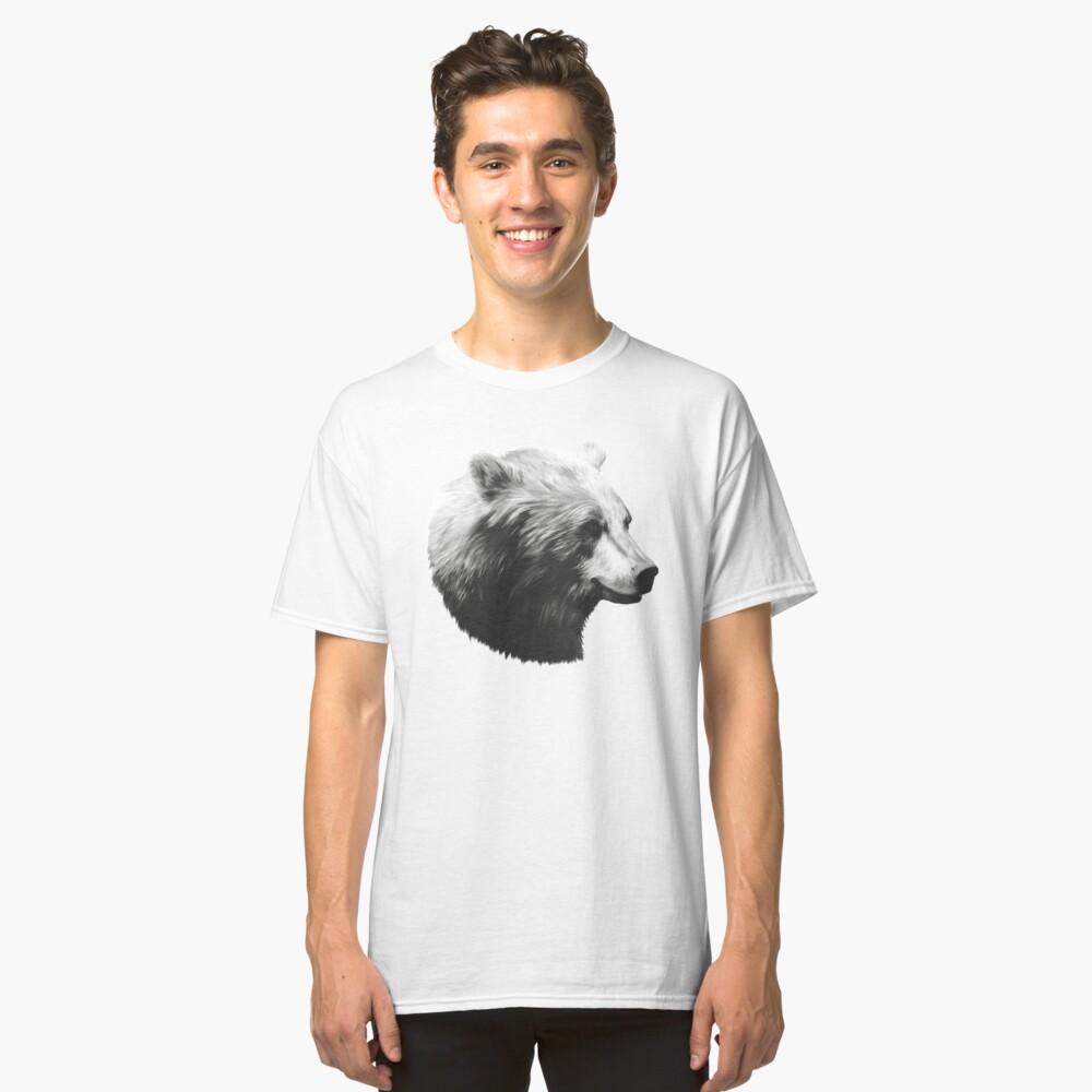 Bear // Calm Sketch Classic T-Shirt