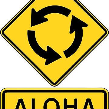 Aloha Circle Sign Design by sargus