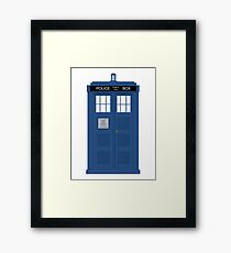 The Doctors TARDIS Framed Print
