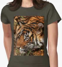 Wild Bengal Tiger Womens Fitted T-Shirt