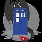 Toothless TARDIS by Sarah Switalski