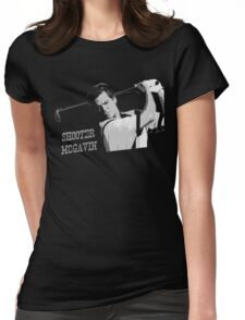 Shooter Mcgavin Funny Golf Shirt Womens Fitted T-Shirt