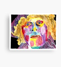 Fourth Doctor  / Tom Baker Canvas Print