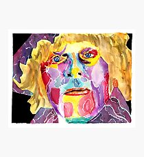 Fourth Doctor  / Tom Baker Photographic Print