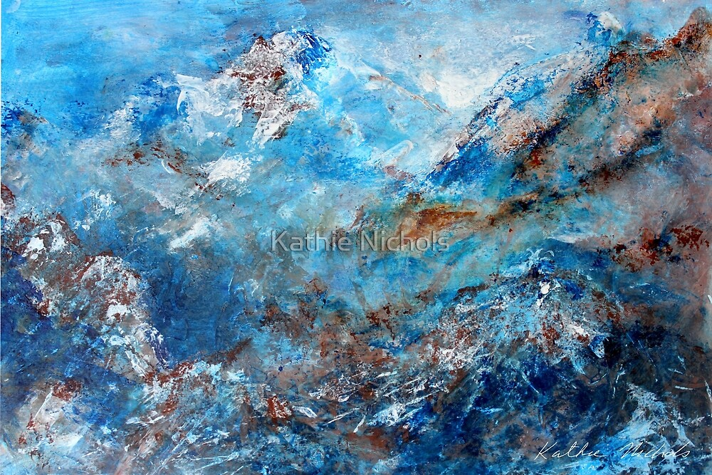 Snowy Mountains  by Kathie Nichols