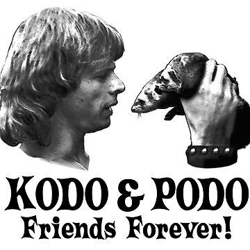 Beastmaster - Kodo & Podo by amcdanny