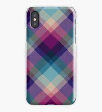 Cross Processed Plaid iPhone Case/Skin