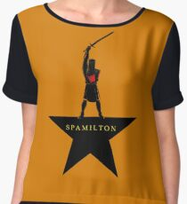 Spamilton Chiffon Top
