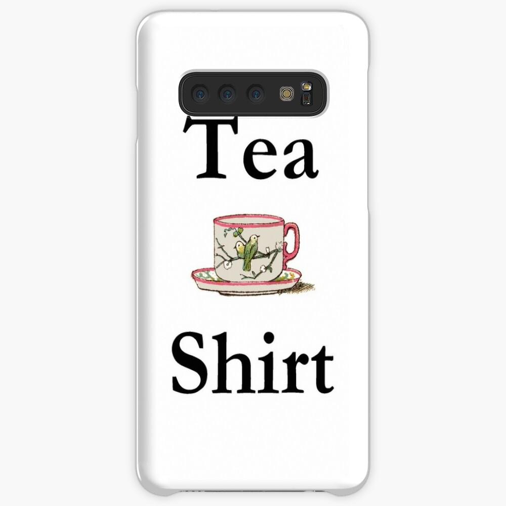 Tea Shirt with Tea Cup  Case & Skin for Samsung Galaxy