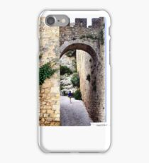 OBIDOS PORTUGAL WALLED CITY iPhone Case/Skin