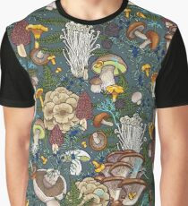 mushroom forest Graphic T-Shirt